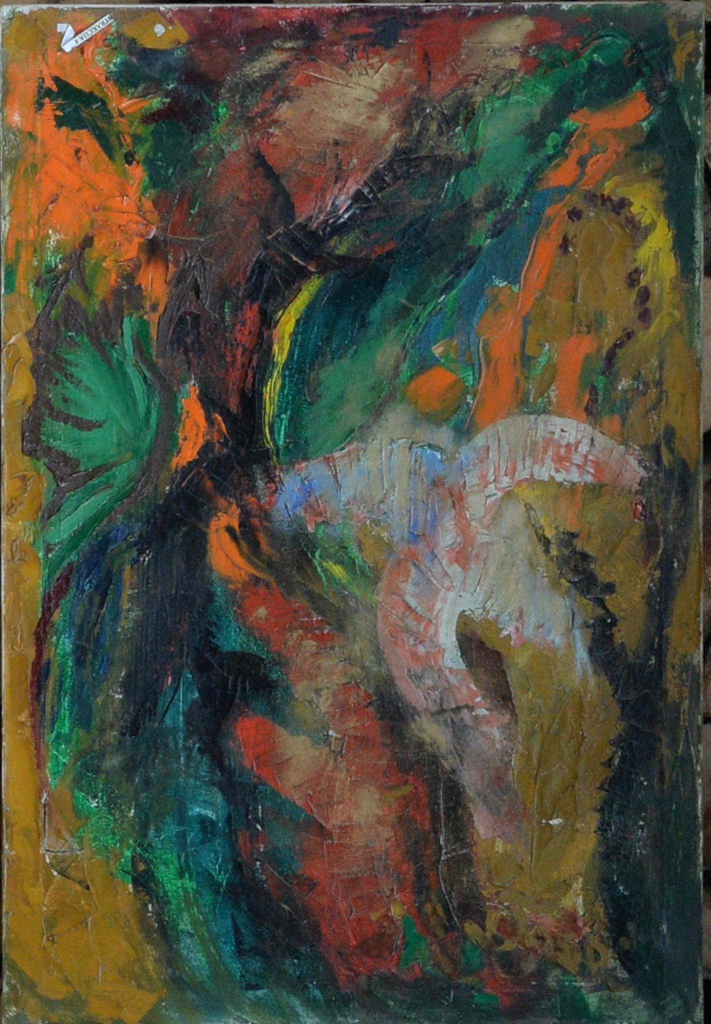 Abstraktas 2 (žalias)