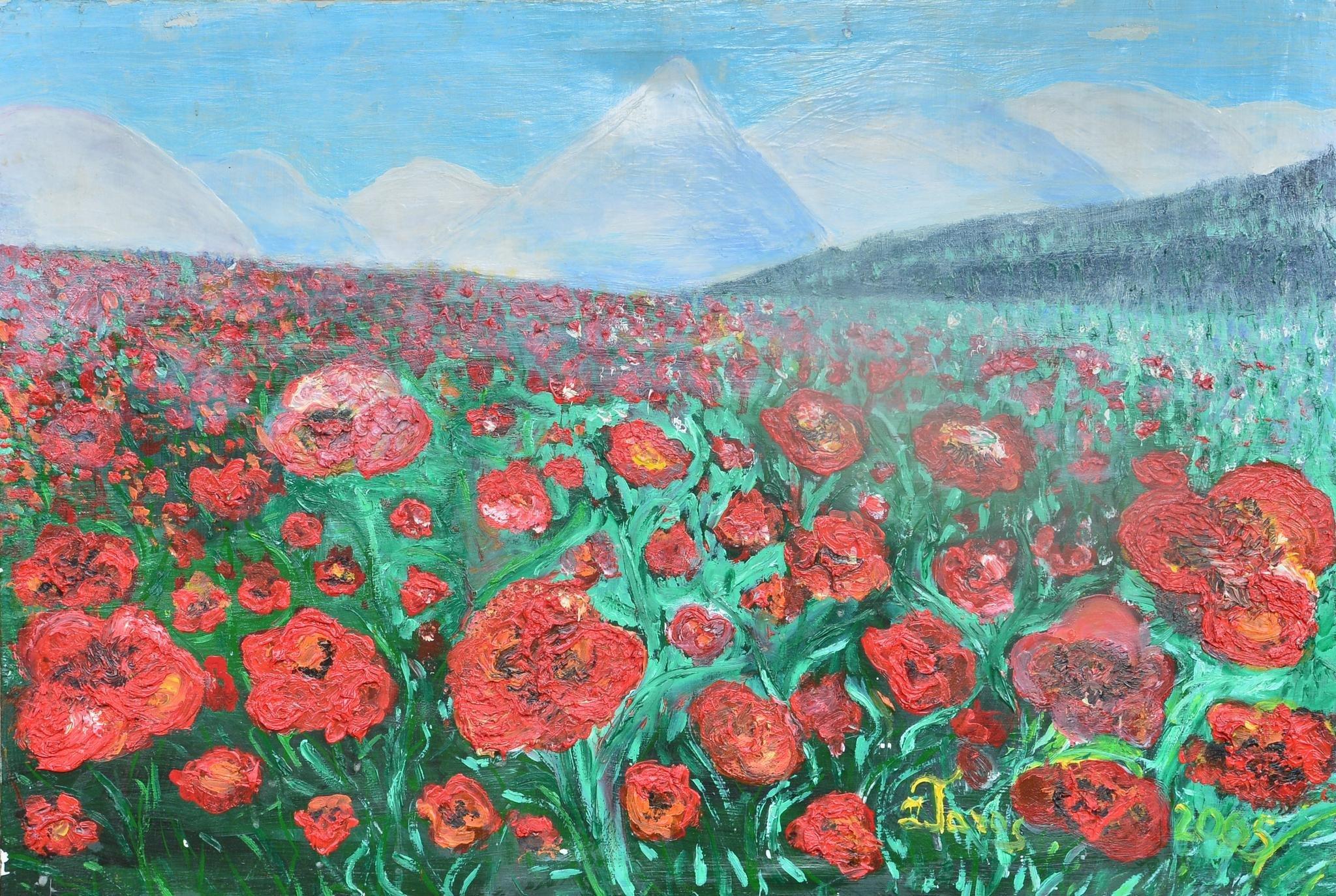Caucasian poppies