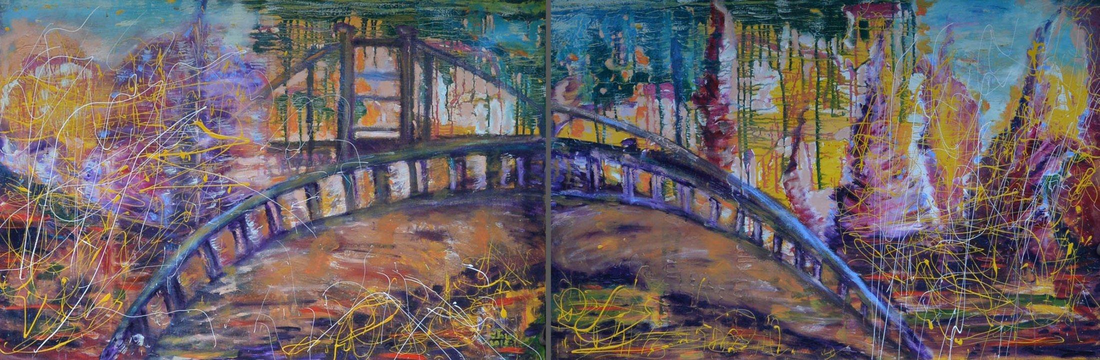 The Bridge (Diptych)